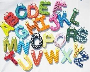 Kylskåpsmagneter Alfabetet (A-Z)