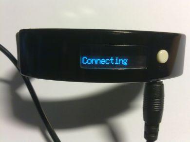 LCD Bluetooth armband för mobiltelefon