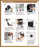 Instruktion till Espressomaskin Espresso