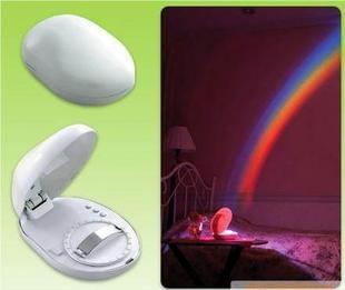 Regnbågs projektor Nattlampa Moodlight
